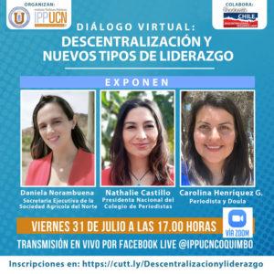 Diálogo Virtual Descentralización y Nuevos Tipos de Liderazgo